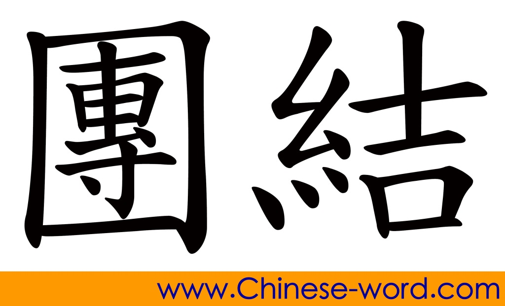 Chinese word for Unity